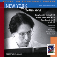 New York Philomusica Chamber Ensemble | Mozart: The Bicentennial Program