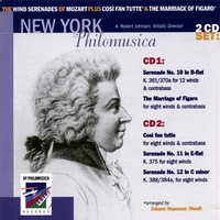 New York Philomusica Chamber Ensemble | The Wind Serenades of Mozart plus Cosi fan tutte & The Marriage of Figaro