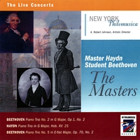 New York Philomusica Chamber Ensemble | Master Haydn, Student Beethoven: The Masters
