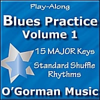 O'Gorman Music | Blues Practice, Vol. 01 (Major Shuffle)
