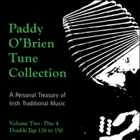 Paddy O'Brien Tune Collection | Volume 2:4 - Double Jigs 126 to 150