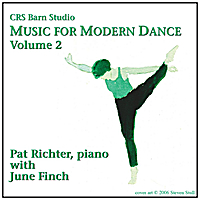 Pat Richter, June Finch & Steven Stull | Music for Modern Dance, Vol. 2; Pat Richter, piano, with June Finch