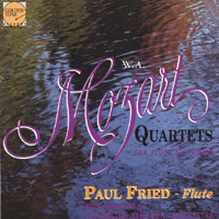Paul Fried | Mozart Flute Quartets - Paul Fried and Members of the Boston Symphony