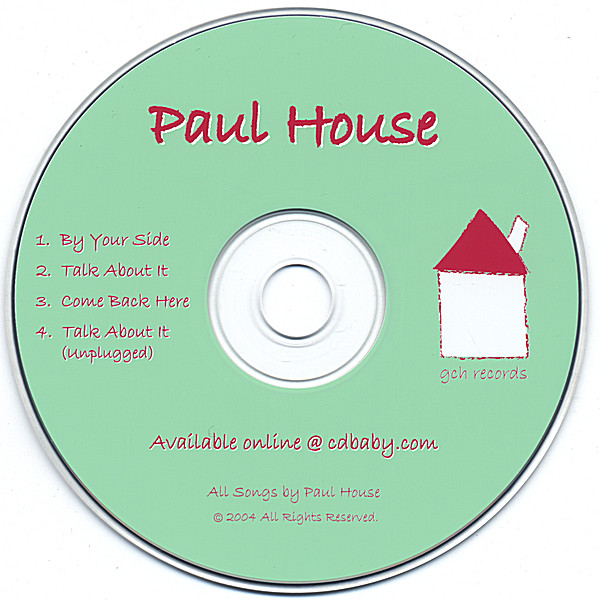 Paul house 2004 cd baby music store for House music 2004