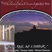 Philadelphia Classical Guitar Trio | Danzas, Rags, and a Souvenir