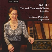Rebecca Pechefsky | Bach: The Well-Tempered Clavier, Book One