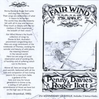 Penny Davies & Roger Ilott | Fair Wind Home