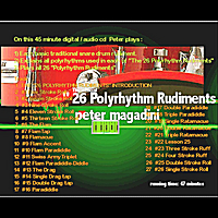 Peter Magadini | The (official) 26 Polyrhythm Rudiments