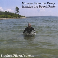 Stephen Pfister | Monster From The Deep Invades The Beach Party