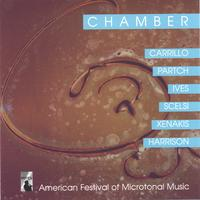 Carrillo Ives Partch Harrison Xenakis Scelsi | CHAMBER: American Festival of Microtonal Music (AFMM) Ensemble under the direction of Johnny Reinhard