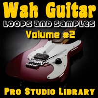 Pro Studio Library | Wah Guitar - Loops and Samples, Volume#2