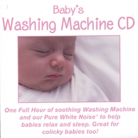 PureWhiteNoise.com | Baby's Washing Machine CD