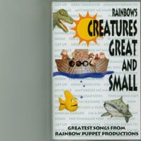 Rainbow Puppet Productions | Rainbow's Creatures Great and Small (audio cassette)