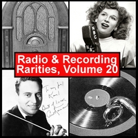 Various Artists | Radio & Recording Rarities, Volume 20