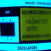 Raul Pena III | Raul's World of Synths
