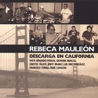Album Descarga En California by Rebeca Mauleon
