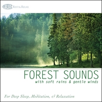 Rest & Relax Nature Sounds Artists | Forest Sounds with Soft Rains & Gentle Winds: Nature Sounds for Deep Sleep, Meditation & Relaxation