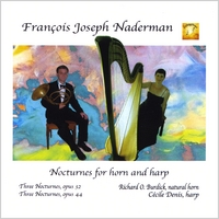 Richard O. Burdick & Cecile Denis | Nocturnes for horn and harp by F. J. Naderman
