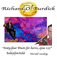 Richard O. Burdick | I Ching Duets for two horn horns, opus 132