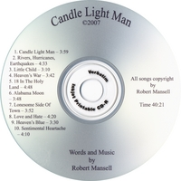 Robert Mansell | Candle Light Man