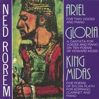 Ned Rorem / Phyllis Curtin, soprano | Ariel: For Soprano, Clarinet and Piano