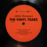 Robbin Thompson | The Vinyl Years