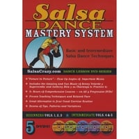 Salsa Crazy | The Complete Salsa Dance Mastery System, 5 DVD Package. Learn to Salsa Dance!