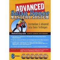Salsa Crazy | SalsaCrazy's Advanced Salsa Dance Mastery System (6 DVD Set)