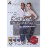 Salsa Crazy | Learn to Dance Bachata Mastery System (3 DVD's)