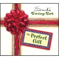 Sarah's Swing Set | The Perfect Gift