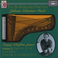 Sergey Schepkin | Johann Sebastian Bach: The Six Keyboard Partitas Vol. 2