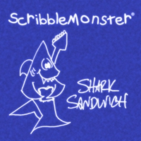 ScribbleMonster | Shark Sandwich