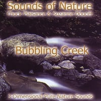 Suzanne Doucet, Chuck Plaisance | Bubbling Creek (Sounds of Nature Series)