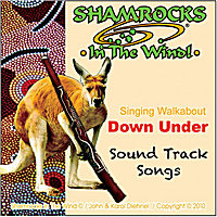 Shamrocks in the Wind | Walkabout Down Under