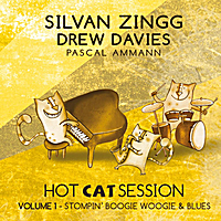 Silvan Zingg & Drew Davies | Hot Cat Session, Vol. 1 Stompin' Boogie Woogie & Blues