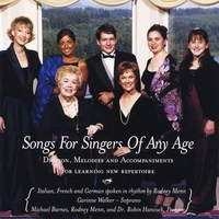 Various Artists | Songs for Singers of Any Age