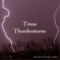 Sounds of Thunder and Rain | Texas Thunderstorm