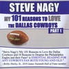 Steve Nagy: My 101 Reasons to Love the Dallas Cowboys, Part 1