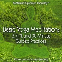 Swami Jnaneshvara Bharati | Basic Yoga Meditation: 3, 7, 11, and 30-minute Guided Practices