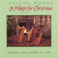 Sylvia Woods | Three Harps for Christmas, Volume 1