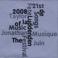 Jonathan Taylor | Songs of the Fete de la Musique