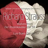 Temple University Symphony Orchestra | Waltzes from Der Rosenkavalier, Op. 59