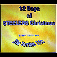 the terrible trio | 12 Days of Steelers Christmas