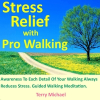 Terry Michael | Stress Relief With Pro Walking. Awareness to Each Detail of Your Walking Always Reduces Stress. Guided Walking Meditation.