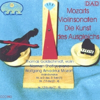 Thomas Goldschmidt, violin - Norman Shetler, piano | The Art of Balance - Mozarts Violin Sonatas