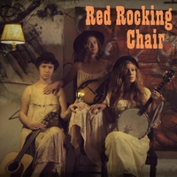 The Dire Honeys | Red Rocking Chair