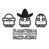 The Flamin' Skulls | Zombie Janitor