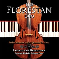 The Florestan Duo, Stefan Kartman & Jeannie Yu | Beethoven: The Complete Works for Cello and Piano