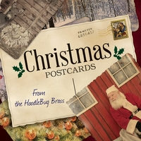 Hoodlebug Brass | Christmas Postcards