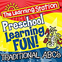 The Learning Station | ABC Song (Traditional ABC's)